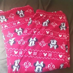 DISNEY Minnie Mouse Fleece PJ Pants